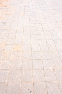 Der Straßenkorridor ist ein rechteckiger Tisch