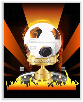 der Triumph Fußball-Champion-Pokal