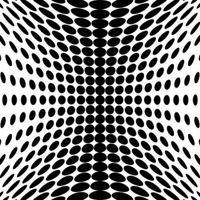 Fototapete Design monochromen Punkte Hintergrund