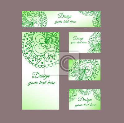Design Vorlagen Visitenkarten Flyer Einladungen Abstrakte