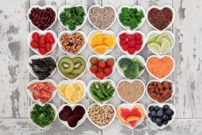 Fototapete Detox Diät Lebensmittel