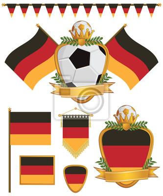 Deutschland flags