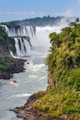 Fototapete Devil's Throat, Iguazu Falls, Argentina