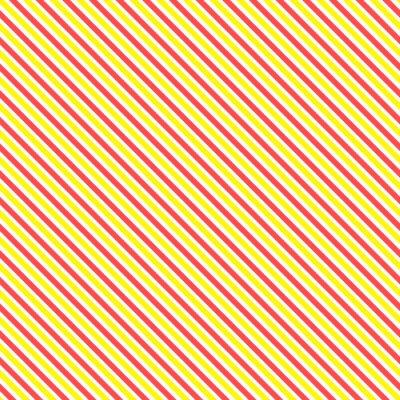 Fototapete Diagonal Streifen nahtlose Muster. Geometrische klassischen gelben und roten Linie Hintergrund.