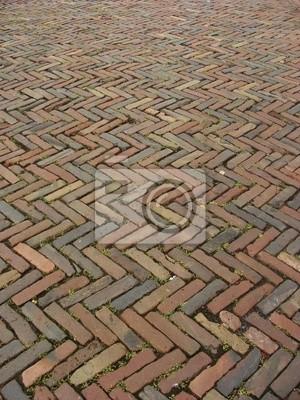 pflastersteine ideen gartenweg natursteine material verwenden einladend