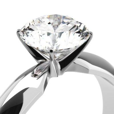 Fototapete Diamant-Ringe