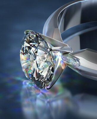 Fototapete Diamantring