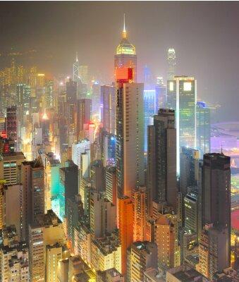 Fototapete Dichte Hong Kong