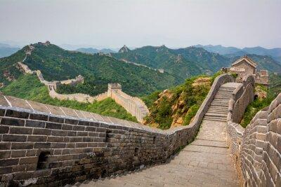 Fototapete Die Chinesische Mauer, Peking, China