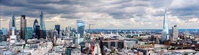 Fototapete Die City of London Panorama
