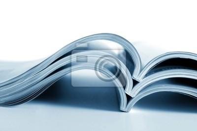 Die entwickelten Zeitschriften