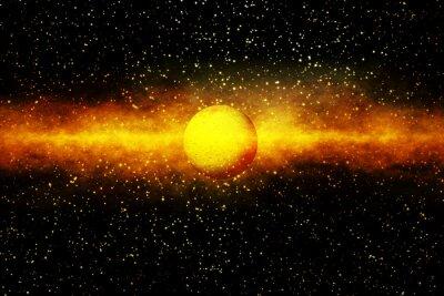 Fototapete Die Geburt eines Sterns