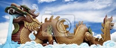 Die große goldene Drache