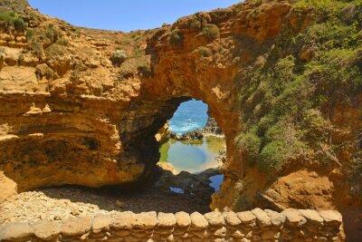 Fototapete Die Grotte entlang der Great Ocean Road.