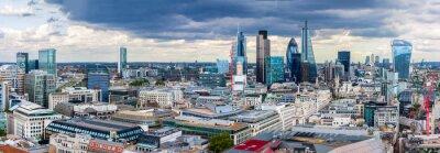 Fototapete Die Londoner City Panorama