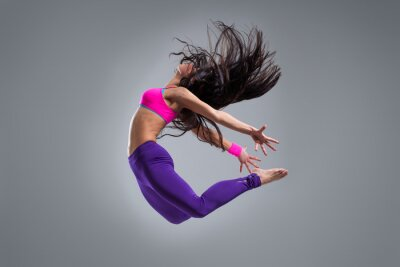 Fototapete die Tänzerin
