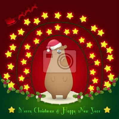 die Weihnachtsschmuck beachten
