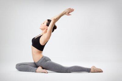 Fototapete die Yoga-Frau