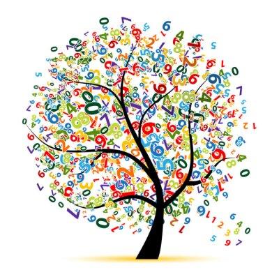 Digitale Baum für Ihr design