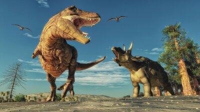 Dinosaurier Fototapete Fototapeten Dino Palaontologie Ara