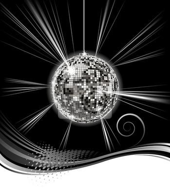 Disco-Kugel Hintergrund