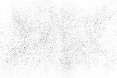 Fototapete Distressed black texture. Dark grainy texture on white background. Dust overlay textured. Grain noise particles. Rusted white effect. Grunge design elements. Vector illustration, EPS 10.