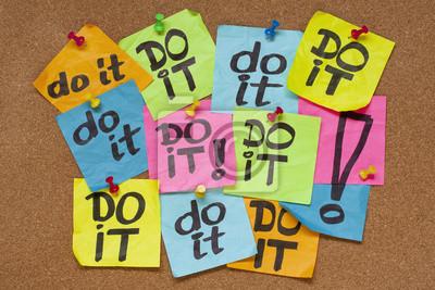 do it - Zaudern Konzept
