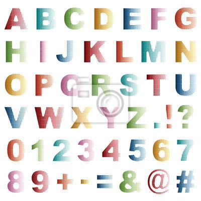 dot alphabet
