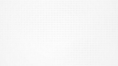 Fototapete Dot white gray pattern gradient light texture background. Abstract  technology big data digital background. 3d rendering.