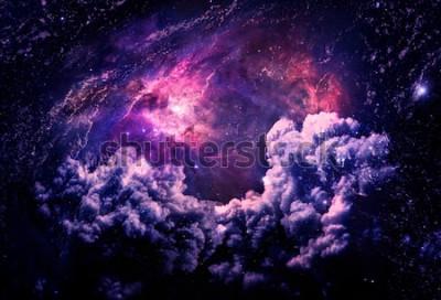 Fototapete Dreamscape Galaxy - Elemente dieses Bildes von der NASA eingerichtet