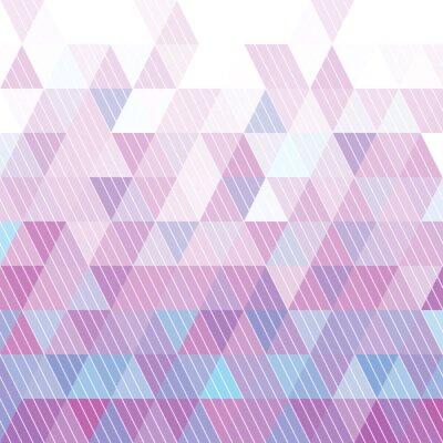 Fototapete Dreieck-Muster