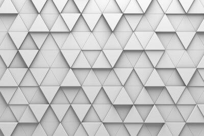 Fototapete Dreieckige Fliesen 3D Musterwand