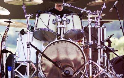 Fototapete Drums auf der Bühne