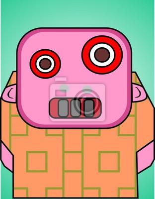 dummen Roboter