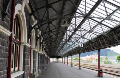 Fototapete Dunedin Bahnhof entfernt