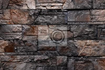 Einfach Steinwand Farbe ~ Dunkelbraun schwarz steinwand textur hintergrund natürliche farbe