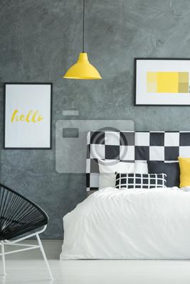 Dunkles Kreatives Schlafzimmer Fototapete Fototapeten Appartment