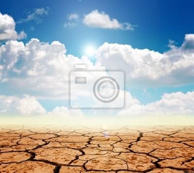 Fototapete Dürre Land