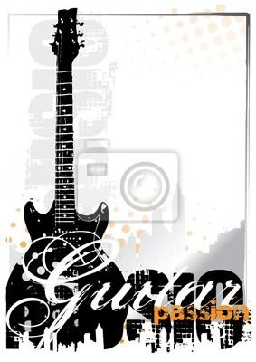 E-Gitarre Hintergrund