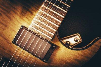 Fototapete E-Gitarre-konzept