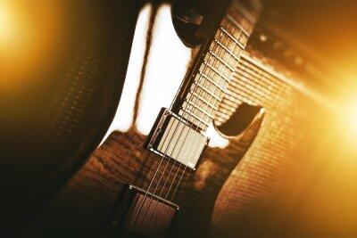 Fototapete E-Gitarre Thema