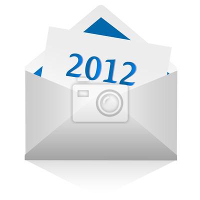 Fototapete E-Mail 2012
