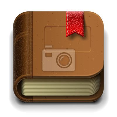 Ebook-Symbol, Vektor-Illustration eps10.