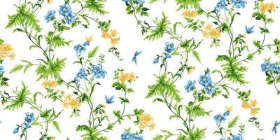 Fototapete Echo Floral Nahtlose Muster