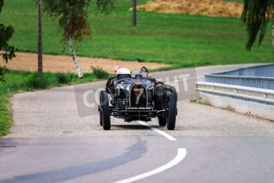Fototapete Editorial, 12. September 2015: Frankreich: XXXIIeme Festival Enthousiastes Bugatti in Molsheim. Oldtimer.