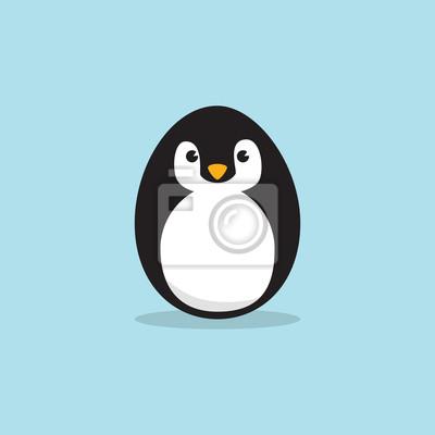 Osterei Pinguin
