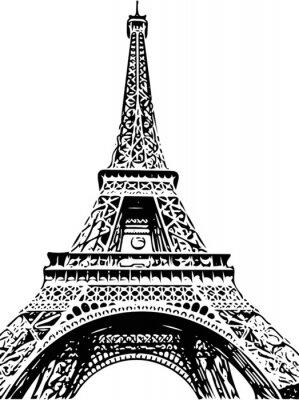 Fototapete Eiffelturm