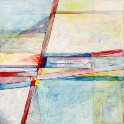 Fototapete ein abstraktes Gemälde