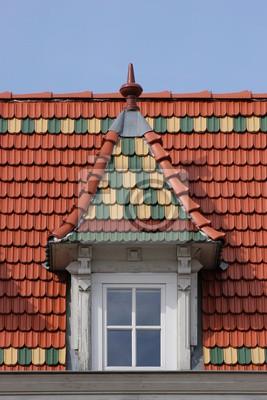 Ein Dach in Greifswald, Backsteingotik
