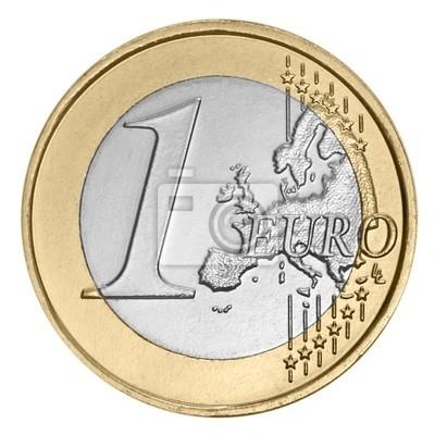 Ein Euro Münze Fototapete Fototapeten Gelder Fälschung Schein